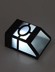 Недорогие -2-х светодиодных Белый Уличные светодиодные Солнечный свет Настенные светильники Пейзаж Pinup Путь Сад