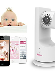 IBCAM Home Wireless IP Network WiFi Security Camera for Baby with P2P Music Play Two-Way Talk