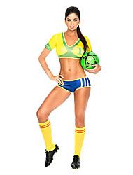Недорогие -2014 Barzil Кубок мира по футболу Детские сексуальная форма