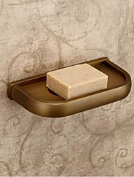 cheap -Soap Dish Antique Brass Wall Mounted 19.5*9cm(7.6*3.9inch) Brass Antique