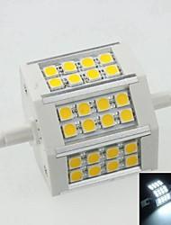 Недорогие -SENCART 1шт 8 W 500 lm R7S Точечное LED освещение 24 Светодиодные бусины Естественный белый 100-240 V