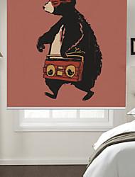 Недорогие -художественная ходьба музыка медведь мультяшном стиле ролик тени