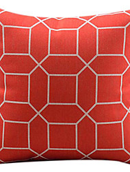 cheap -1 pcs Cotton/Linen Pillow Cover, Geometric Modern/Contemporary