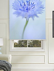 cheap -Botanic Style Blue Flower Ⅱ Roller Shade