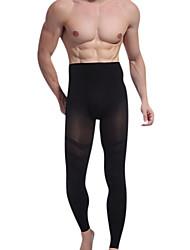 moda dos homens nádega carry fina perna fina nono emagrecimento calças calças corpo shaper apertar o ny021 barbela