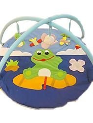 Недорогие -мягкая ползком играть мат лягушка ковер для детей