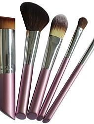 cheap -5pcs Professional Makeup Brushes Makeup Brush Set Nylon / Pony Eye / Face / Lip Middle Brush