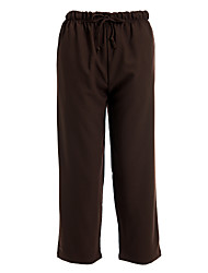 abordables -Mujer Pantalones Clásico Corte Ancho Pantalones - Color sólido