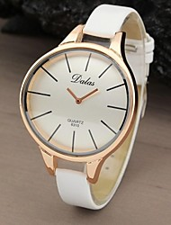 cheap -Women's Watch Fashionable Style Casual Rose Gold Curved Case  Cool Watches Unique Watches Strap Watch