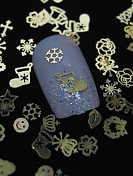 cheap -100pcs Nail Jewelry Other Decorations Abstract Classic Daily Abstract Classic High Quality