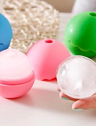 Ball-Shape Silicone Ice Box(Random Color)