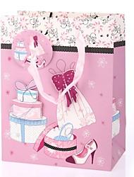suporte de papel de papel cuboide com favo de compras caixas de presente-1 favores de casamento