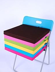 lily® semplice panno lavabile in spugna di cotone cuscino quadrato spessore 4 cm 40 * 40cm sedia cuscino caramella verde HMD-4-28
