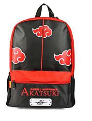 Bolsa Inspirado por Naruto Fantasias Anime Acessórios de Cosplay Bolsa / mochila Preto / Vermelho Náilon / PVC Masculino / Feminino
