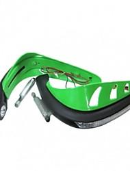 Недорогие -7/8 '' пластик мотоцикл цевье протектор с светом водить для мотоцикла Honda яма грязи Pocket Bike ATV