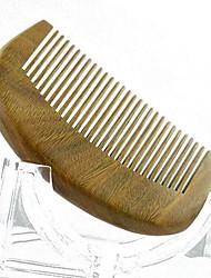 hohe Qualität 9x5.5cm Sandelholz Holzkamm kämmen Gesundheit