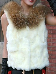 Women's Fashion Leisure Fur Vest