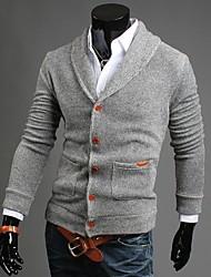 cheap -Men's Fashion Slim V-neck Cardigan