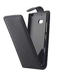 Недорогие -Кейс для Назначение Nokia Nokia Lumia 930 Кейс для Nokia Флип Чехол Сплошной цвет Твердый Кожа PU для