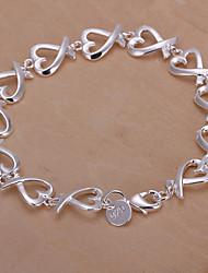 vilin argent bracelet de varech des femmes