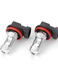 Недорогие -SO.K H11 Лампы Высокомощный LED 2000-2300 lm