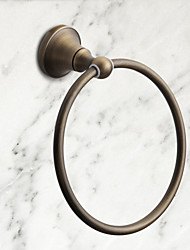cheap -Towel Bar High Quality Antique Brass 1 pc - Hotel bath towel ring