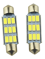 economico -SO.K 2pcs 41mm Auto Lampadine 2W W SMD 5630 lm 9 Luci interne