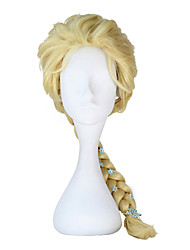 cheap -Princess Fairytale Elsa Cosplay Wigs Movie Cosplay Silver Beige Golden Wig Christmas Halloween New Year