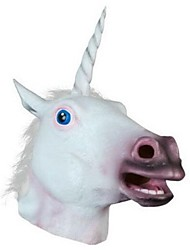 cheap -Unicorn Animal  Latex Halloween Mask Halloween Props Cosplay Accessories