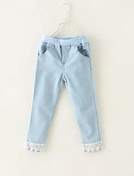 economico -Jeans Girl Tinta unita Cotone / Denim Inverno / Primavera / Autunno Multicolore
