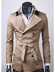 estilo menmax outono casuais sleevecoats longos&jaquetas Y001