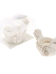 Retro Handicraft Bird Shape Candle Holder Wedding Favors Beautiful