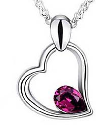CS корейский стиль ожерелье кристалла элегантной моды