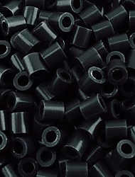 Approx 500PCS/Bag 5MM Black Fuse Beads Hama Beads DIY Jigsaw EVA Material Safty for Kids Craft