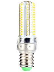 preiswerte -3.5 E14 LED Mais-Birnen T 104 Leds SMD 3014 Warmes Weiß 300-350lm 2800-3300K AC 220-240V
