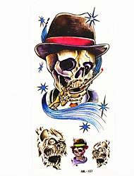 billige -#(1) Tatoveringsklistermærker Andre Mønster VandtætHerre Dreng Teenager Flash tatovering Midlertidige Tatoveringer