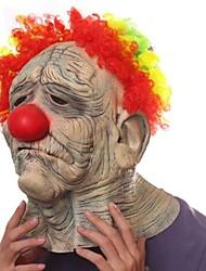 Недорогие -красочные волосы клоун латекс маска для Хэллоуина партии (1 шт)