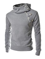povoljno -Neformalan Puloveri i majice s kapuljačom - MEN - Hoodie - Dugi rukav (Pamuk / Pamuk Blend)