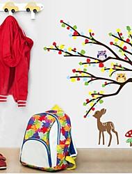 baratos -Animais Adesivos de Parede Etiquetas de parede de animal Autocolantes de Parede Decorativos, Vinil Decoração para casa Decalque Parede
