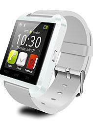 u8 smartwatch camera message controle de mídia / hands-free calls / anti-lost for android / ios smartphone