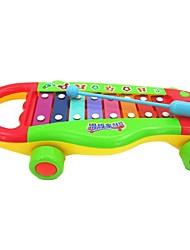 Недорогие -ABS высокого качества мультфильм стучать фортепиано умный детские игрушки NoiseMaker игрушки детские развивающие игрушки перетаскивать игрушки