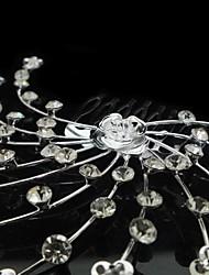 abordables -personalizadas magníficos diamantes de imitación / boda de imitación de novia peines