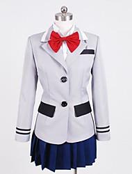 Inspiriert von Tokyo Ghoul Kirishima Touka Anime Cosplay Kostüme Cosplay Kostüme Patchwork Hemd Top Rock Kragen Für Frau