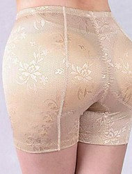 Women's Retro Jacquard Shaping Panties Polyester Lace