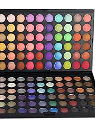 Недорогие -120 цветов Тени / Пудры Глаза Повседневный макияж / Макияж для вечеринки Составить косметический