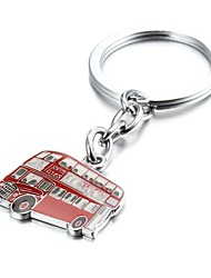 cheap -England Red London Bus Zinc Alloy Keychain(First 10 Customers With Box Added)
