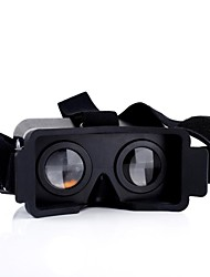 baratos -Óculos 3D Plástico Transparente VR Virtual Reality Glasses Redonda