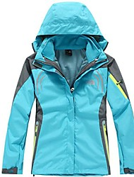 cheap -Women's Hiking Jacket Outdoor Winter Waterproof Thermal / Warm Quick Dry Windproof Ultraviolet Resistant Dust Proof Wearable Breathable