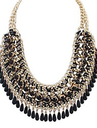 cheap -Women's Jewelry Fashion European Statement Necklace Bib necklaces Alloy Statement Necklace Bib necklaces , Party Special Occasion