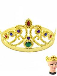 Недорогие -новые Золотая королева и король Headwears (2 шт)